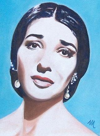 Maria Callas par mario